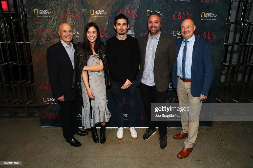 """National Geographic Documentary Films Screening Of """"Free Solo"""" : News Photo"""