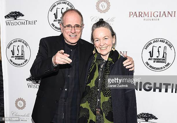Bob Ezrin and Laurie Anderson attend the 15th Annual 'A Great Night in Harlem' Gala at The Apollo Theater on October 27 2016 in New York City