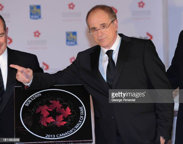 Bob Ezrin attends Canada's Walk Of Fame Ceremony at The Elgin on September 21 2013 in Toronto Canada