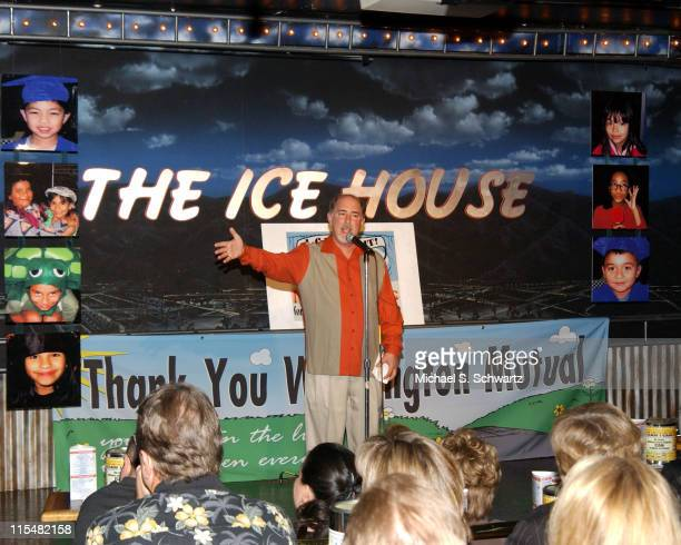 Bob Fisher, owner of The Ice House during No Limits for Deaf and Hard-of-Hearing Children Benefit at The Ice House - April 3, 2005 in Pasadena,...