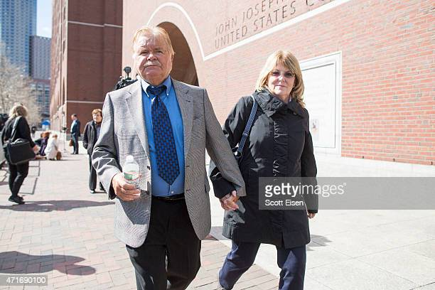 Bob Fitzpatrick, a former FBI special agent and key witness in the Whitey Bulger case, leaves John Joseph Moakley United States Courthouse with his...