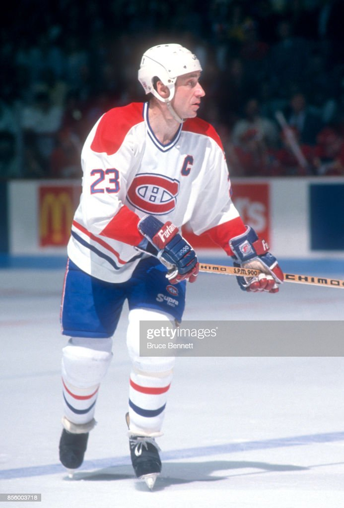 purchase cheap 84972 3a324 Bob Gainey of the Montreal Canadiens skates on the ice ...