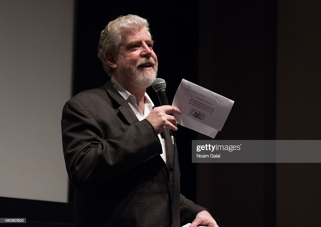 Bob Garfield attends the Brand Meets Story Panel during the 53rd New York Film Festival at Elinor Bunin Munroe Film Center on September 27, 2015 in New York City.