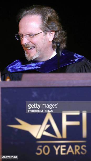 Bob Gazzale President/CEO of AFI attends AFI's Conservatory Commencement Ceremony at the TCL Chinese Theatre on June 5 2017 in Hollywood California
