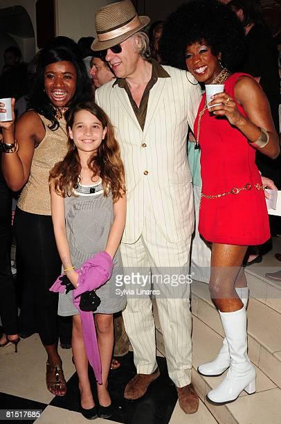 Bob Geldof and daughter Tiger Lily Hutchence Geldof sighting on June 9 2008 in London England