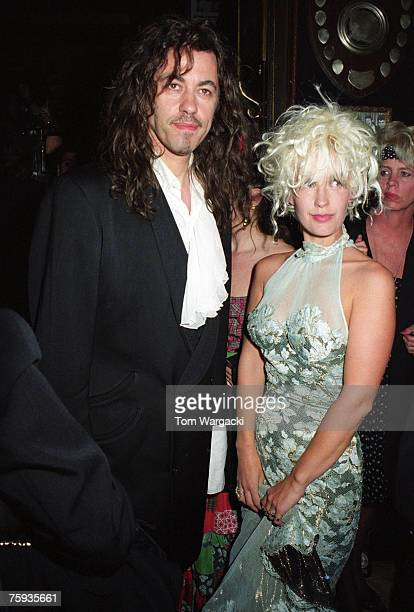 Bob Geldof and Paula Yates at The Hard Rock Cafe on July 5 2007 in London England