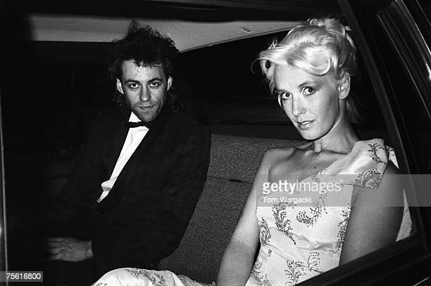 Bob Geldof and Paula Yates seen on January 20 1987 in London