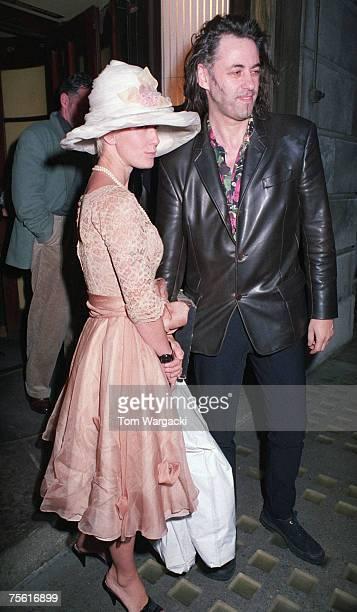 Bob Geldof and Paula Yates seen on October 10 1992 in London
