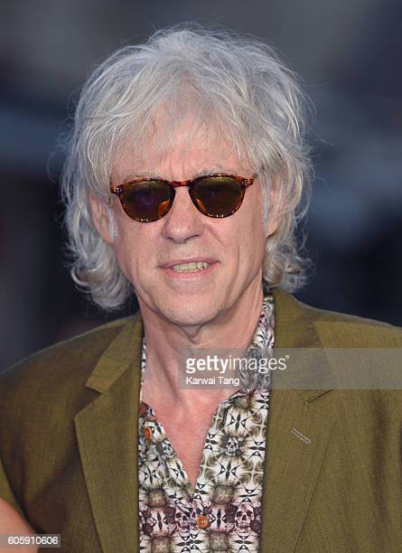Bob Geldof arrives for the World premiere of 'The Beatles Eight Days A Week The Touring Years' at Odeon Leicester Square on September 15 2016 in...