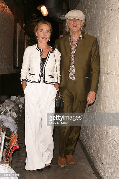 Bob Geldof attending The Beatles Eight Days A Week premiere after party on September 15 2016 in London England