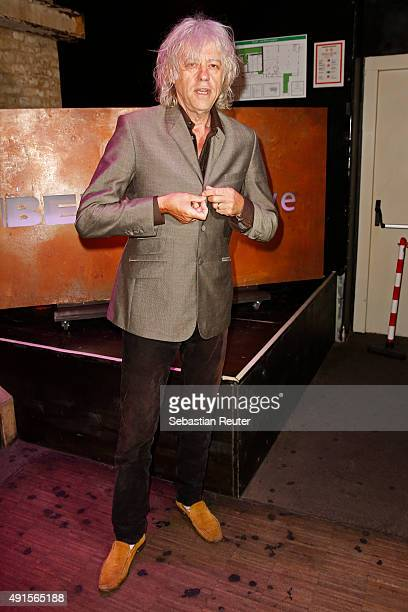 Bob Geldof attends Bob Geldof VIP reception concert in Berlin on October 6 2015 in Berlin Germany