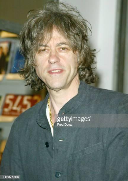 Bob Geldof during 2004 Beck's Futures Award at ICA in London, Great Britain.
