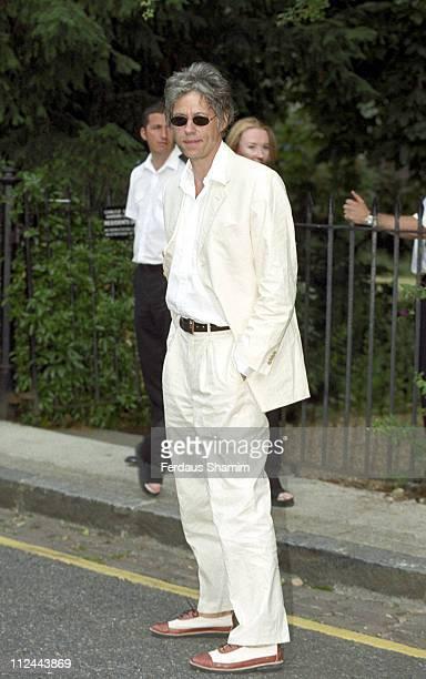 Bob Geldof during Sir David Frost Party in London Great Britain