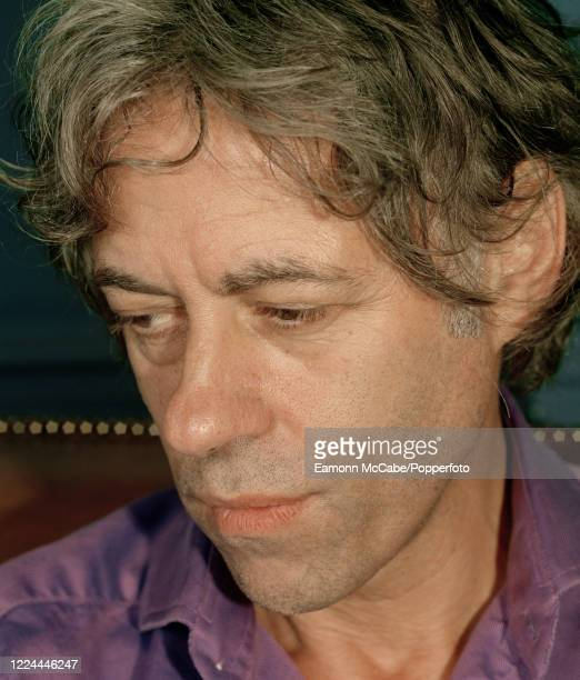 Bob Geldof, Irish singer-songwriter and politicial activist, circa 2005. After successive work as a slaughterman, road navvy and pea canner, Geldof...