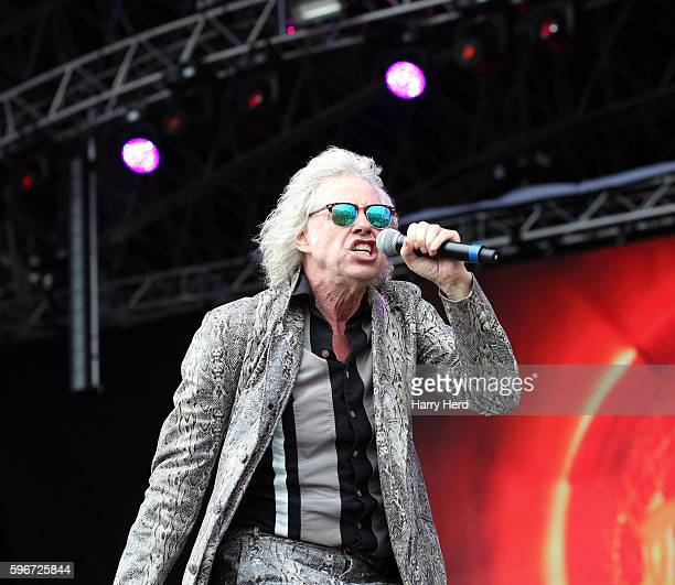 Bob Geldof of The Boomtown Rats perform at Victorious Festival at Southsea Seafront on August 27 2016 in Portsmouth England