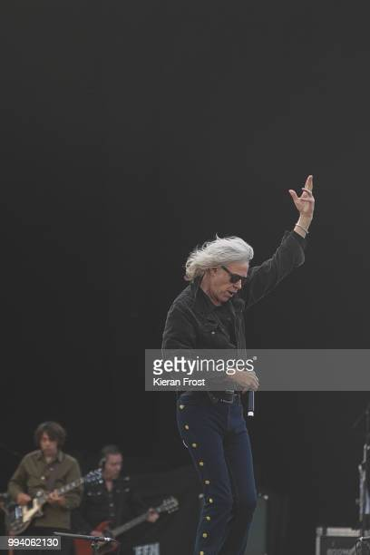 Bob Geldof of The Boomtown Rats performs at Marlay Park on July 8 2018 in Dublin Ireland