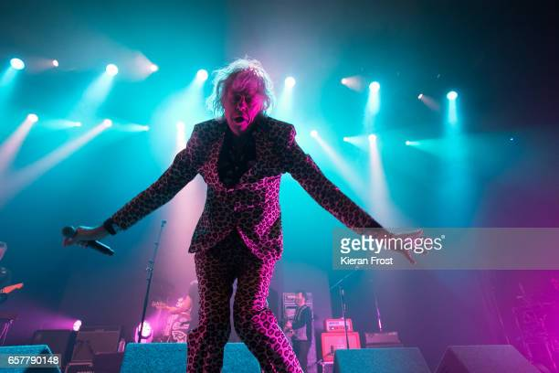 Bob Geldof of The Boomtown Rats performs at the Olympia Theatre on March 25 2017 in Dublin Ireland