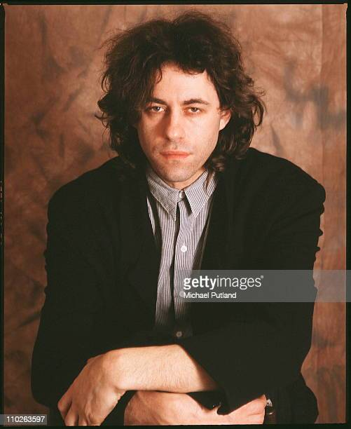 Bob Geldof portrait London 1987