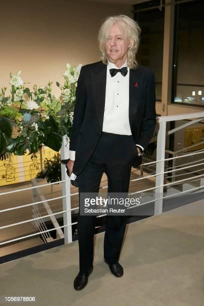 Bob Geldof poses during the 25th Opera Gala at Deutsche Oper Berlin on November 3 2018 in Berlin Germany