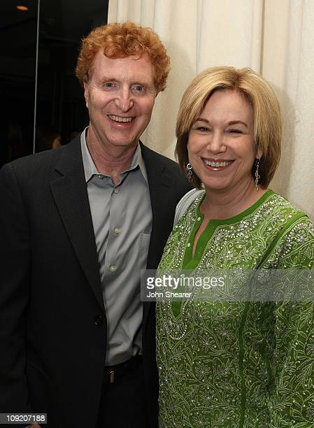 Bob Gersh and Actress Mary Beth Hurt attends The Gersh Agency EMMY Party w/Special Guest Frederic Fekkai held at The Terrace at Sunset Tower Hotel on...