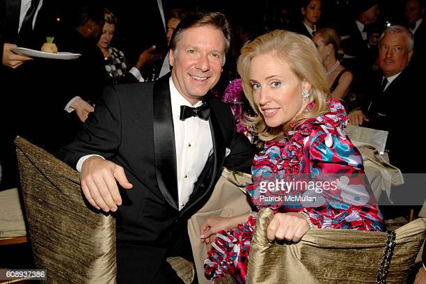 Bob Gianos and Amy Hoadley attend PHELOPHEPA 6th ANNUAL GALA at Gotham Hall on November 1 2007 in New York City