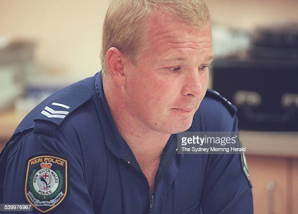 Bob Gibbs member of the NSW Police Crime Scene Unit at the Chatswood Police Station He was sent to Tasmania in the wake of the Port Arthur massacre...
