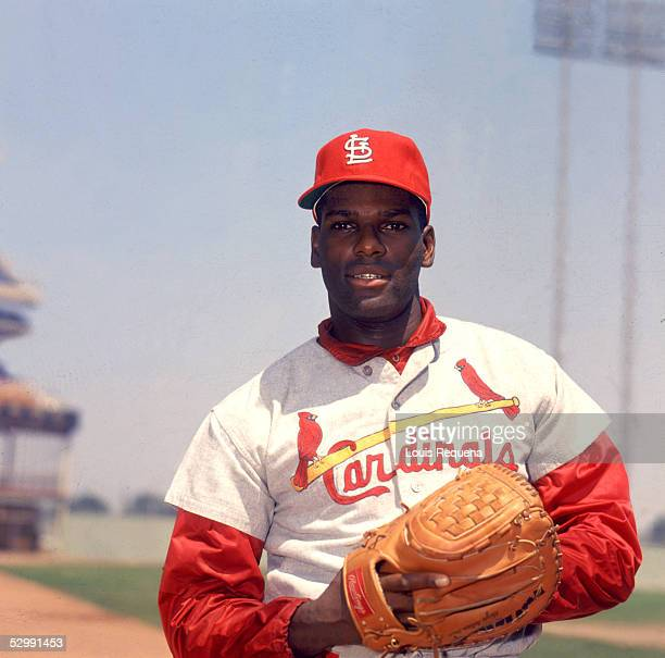 Bob Gibson of the St Louis Cardinals poses before an MLB game at Shea Stadium in Flushing New York Bob Gibson played for the St Louis Cardinals from...
