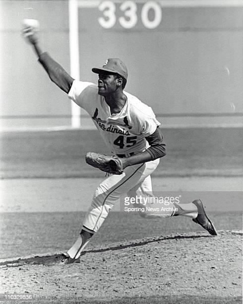 Bob Gibson Pitcher St Louis Cardinals 1968