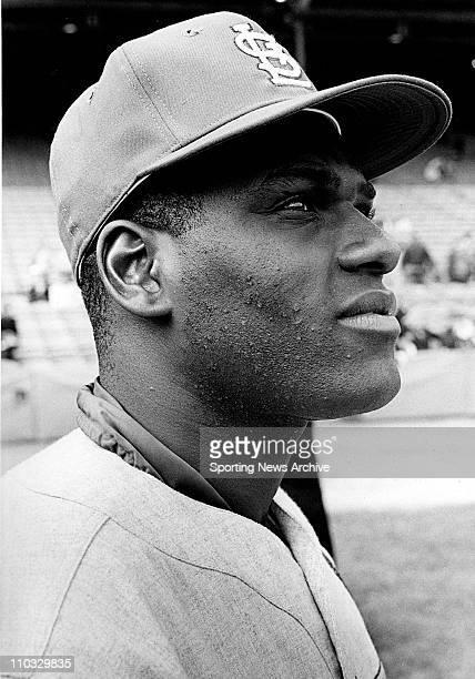 Bob Gibson Pitcher St Louis Cardinals October 12 1967