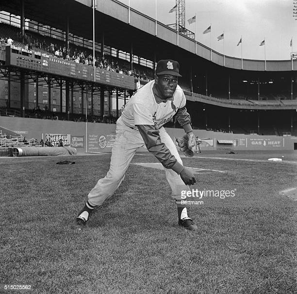 Bob Gibson Throwing in the Infield