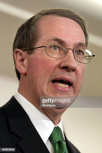Bob Goodlatte Chairman of the Republican High Tech Working Groupduring a news conference on the House of Representatives High Tech Working Group and...