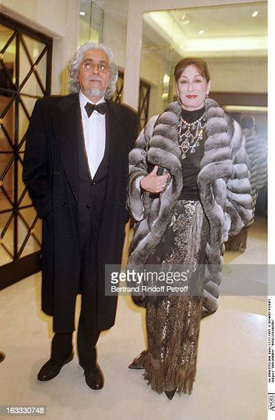 Bob Graham and Anjelica Huston at theChanel Dinner Celebrating The Opening Of La Joaillerie 18 Place Vendome In Paris