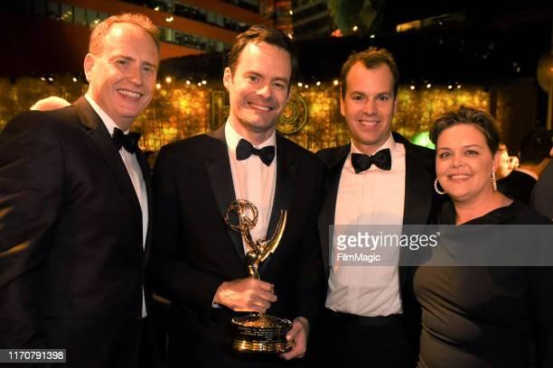 Bob Greenblatt , Bill Hader, President of HBO Programming Casey Bloys , Executive Vice President of HBO Programming Amy Gravitt attend HBO's Official...