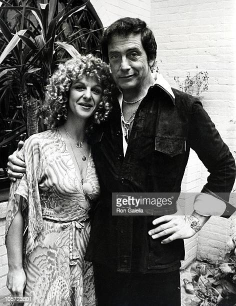 Bob Guccione And Daughter Toni Biggs during Party for Penthouse's 19811982 Pet of the Year at Bob Guccione's Manhattan Townhouse in New York City New...