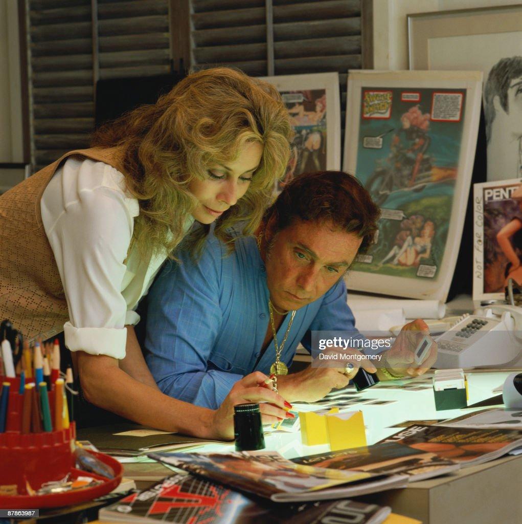 Bob And Kathy : News Photo