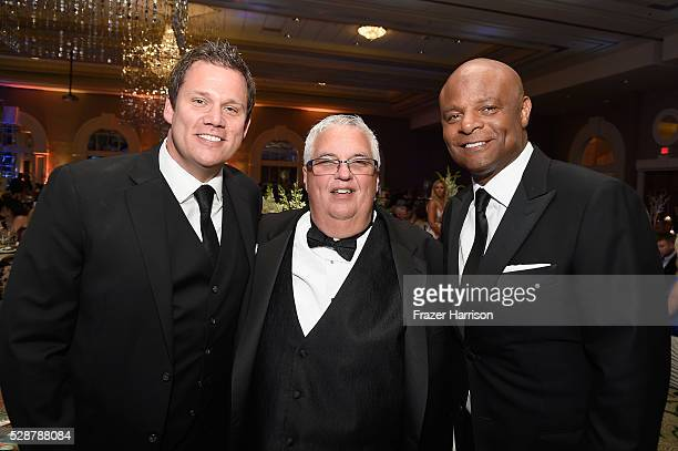 Bob Guiney Rick Campbell and Warren Moon attend Unbridled Eve Gala during the 142nd Kentucky Derby on May 6 2016 in Louisville Kentucky