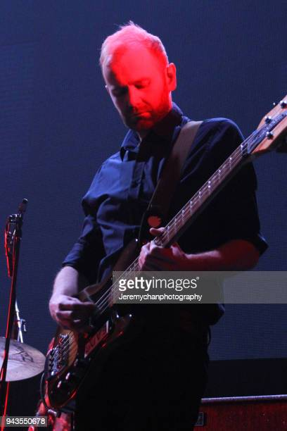Bob Hardy of Franz Ferdinand performs at REBEL on April 8 2018 in Toronto Canada