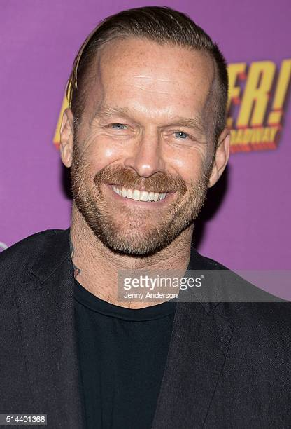 Bob Harper attends 'Disaster' Broadway opening night at Nederlander Theatre on March 8 2016 in New York City