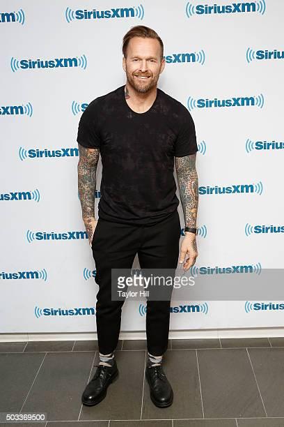 Bob Harper visits the SiriusXM Studios on January 4 2016 in New York City