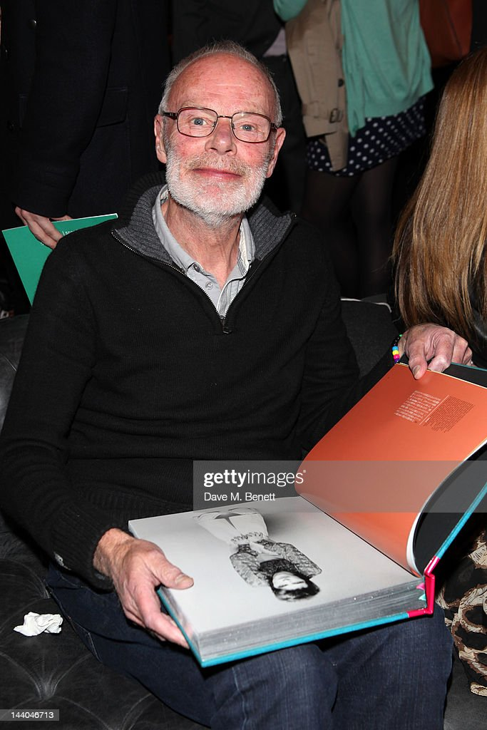 DJ Bob Harris attends a party to launch the book 'Speed of Life,' containing photographs of David Bowie, by Masayoshi Sukita at the Arts Club on May 8, 2012 in Dover St, London.