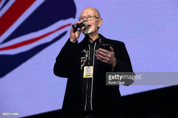 Bob Harris hosts day 2 of C2C Country to Country festival at The O2 Arena on March 10 2018 in London England