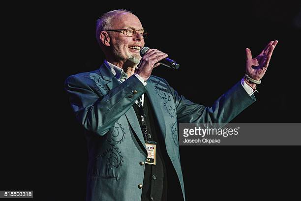 Bob Harris hosts day 3 of C2C Country 2 Country festival at The O2 Arena on March 13 2016 in London England