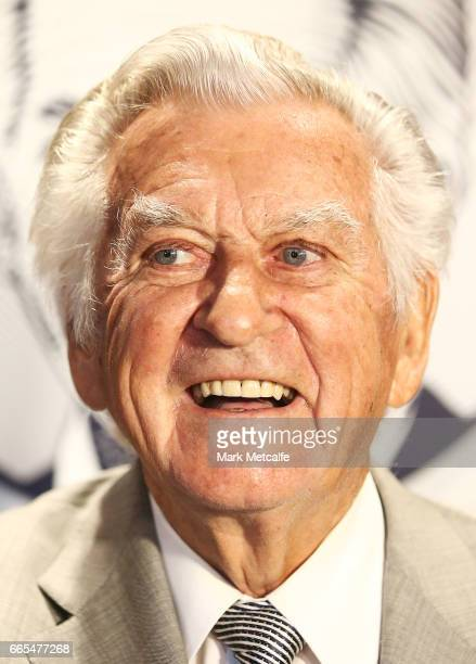 Bob Hawke looks on at the launch of Hawke's Lager at The Clock Hotel on April 6 2017 in Sydney Australia The former Australian Prime Minister agreed...