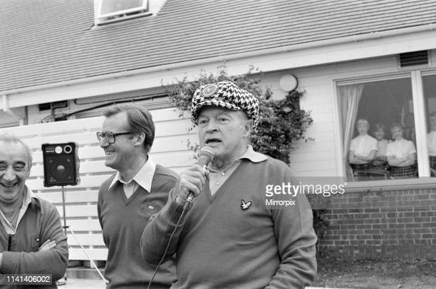Bob Hope American comedian and actor playing golf in Scotland pictured Monday 22nd September 1980