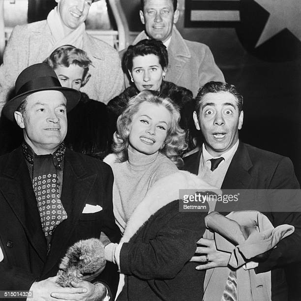 Bob Hope left for Thule Air Force Base Greenland last night with a group of entertainers and will film an hour TV show there on New Year's Eve to be...