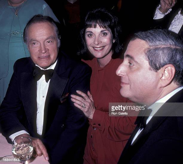Bob Hope Ruth Bachelor and Fred Silverman attend 30th Anniversary Party for Bob Hope on January 11 1981 at NBC Studios in Burbank California