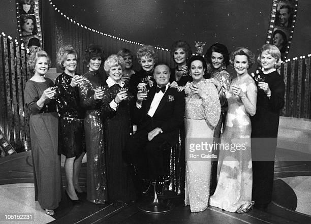 Bob Hope, Virginia Mayo, Janis Paige, Jill St. John, Martha Raye, Lucille Ball, Rhonda Fleming, Dorothy Lamour, Jane Russell, Dina Merrill and...