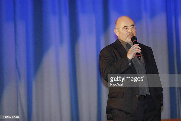 Bob Hoskins during The Times BFI London Film Festival 2006 ''Hollywoodland'' QA at Odeon West End in London Great Britain