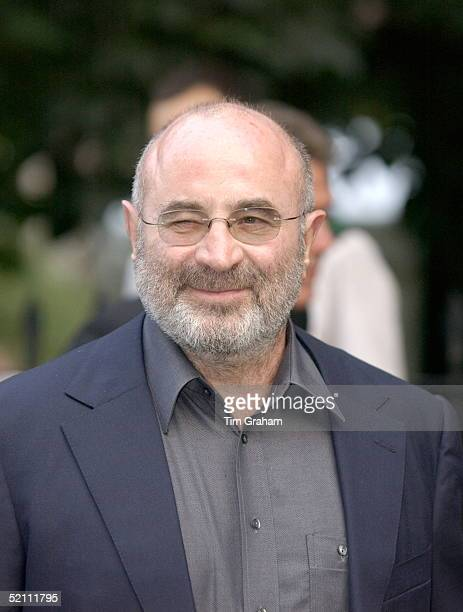 Bob Hoskins Winking As He Arrives At Society Party Hosted By Television Presenter David Frost At Carlyle Square In Chelsea London
