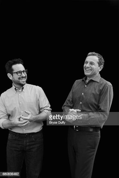 CEO Bob Iger and director JJ Abrams photographed for Variety on January 31 in Los Angeles California